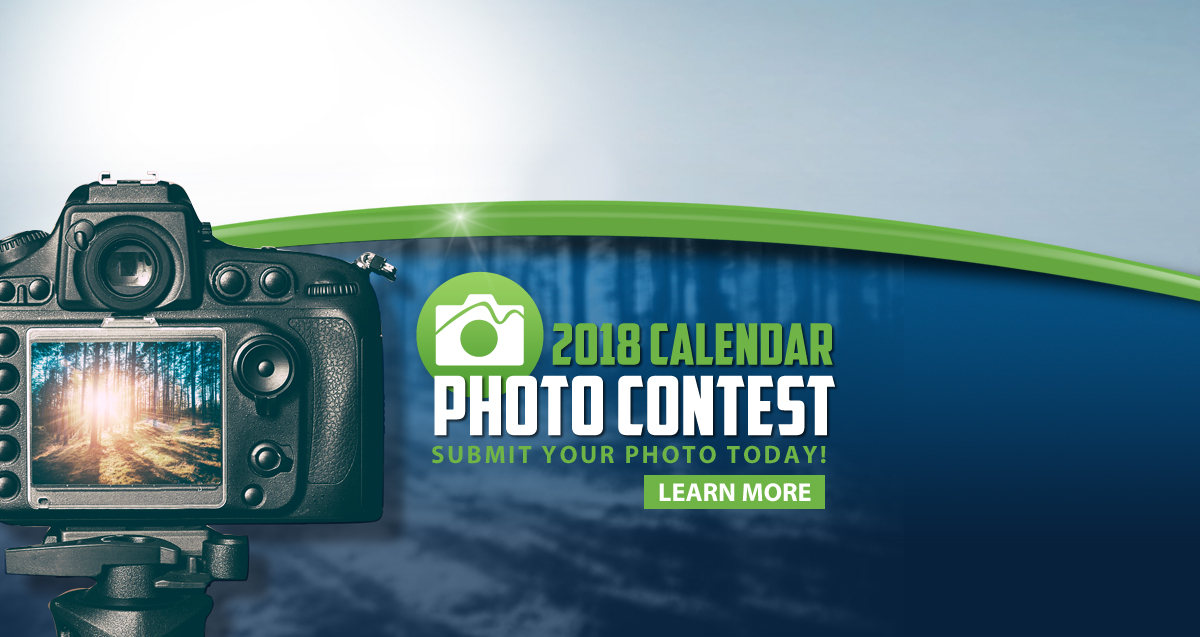 Learn more about our 2018 calendar photo contest